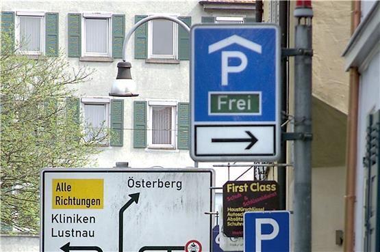 Tübinger Parkhaus Altstadt-Mitte schließt für 20 Monate